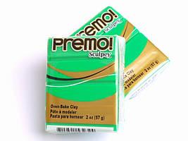 Sculpey Premo Премо (США, Полиформ), 56 г, зеленый 5323