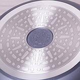 """Сковорода Kamille 24см из литого алюминия с антипригарным покрытием """"гранит"""" и ручкой """"под дерево"""", фото 10"""