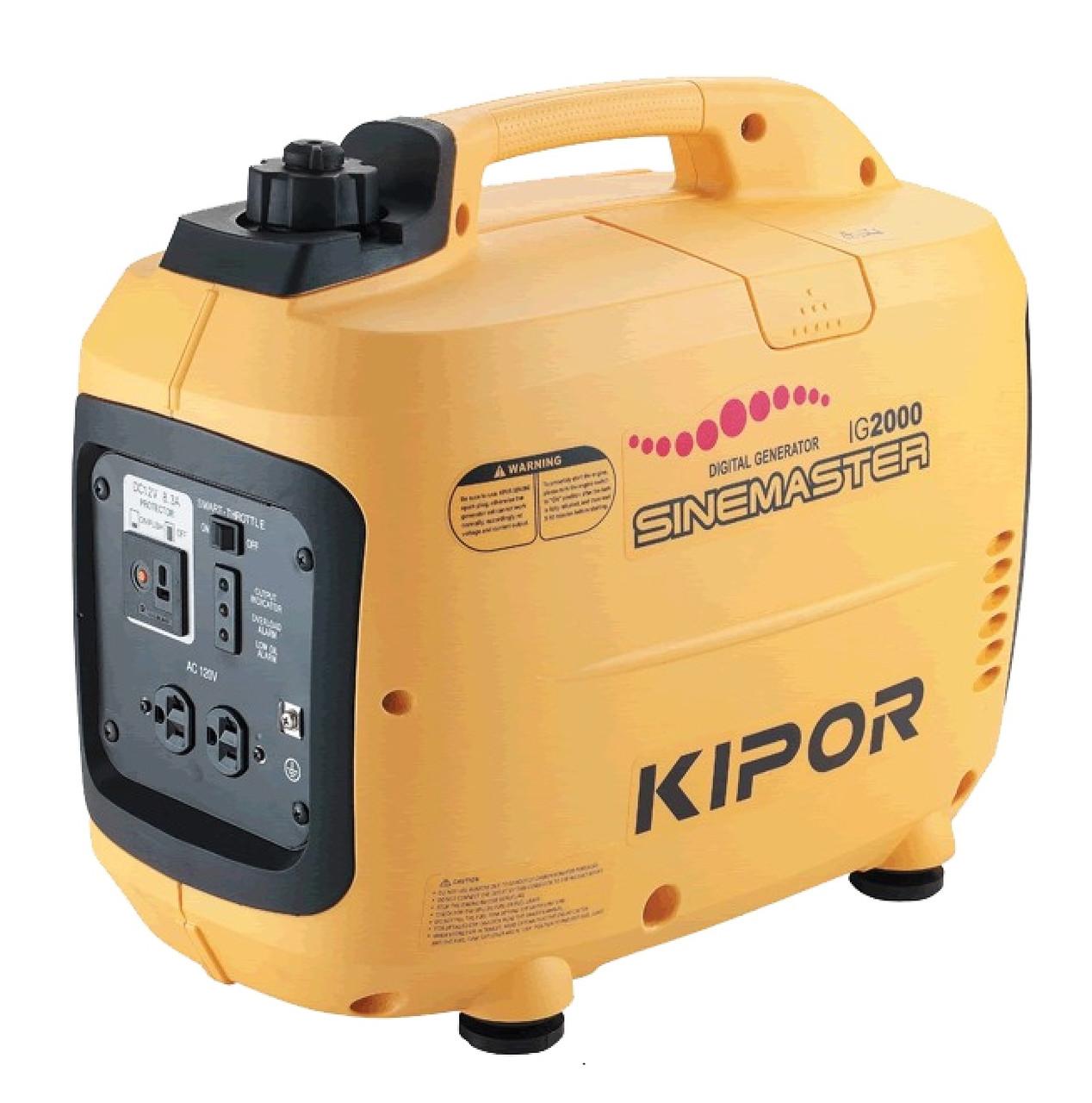 Инверторный генератор Kipor IG2000 (2 кВт)