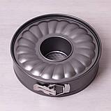 Разъемная форма Kamille Ø26*7см со сменным дном для кекса, фото 7