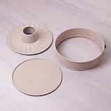 """Разъемная форма Kamille Ø26*7см со сменным дном для кекса и антипригарным покрытием """"мрамор"""", фото 2"""
