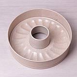 """Разъемная форма Kamille Ø26*7см со сменным дном для кекса и антипригарным покрытием """"мрамор"""", фото 3"""