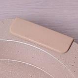 """Форма для запікання Kamille 35*32*6см з антипригарним покриттям """"мармур"""" і силіконовими ручками, фото 5"""