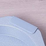 """Форма для запікання Kamille 35*32*6см з антипригарним покриттям """"мармур"""" і силіконовими ручками, фото 8"""