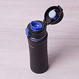Спортивная бутылка 500мл из нержавеющей стали Kamille, фото 3