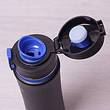 Спортивная бутылка 500мл из нержавеющей стали Kamille, фото 5