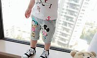 Детские джинсовый шорты с героями Диснея
