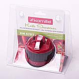 Точилка для ножей Kamille 6*6*6.5см с присоской, фото 2