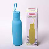 Термос-бутылка Kamille 475мл из нержавеющей стали, фото 7