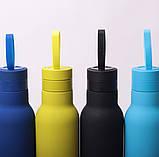 Термос-бутылка Kamille 475мл из нержавеющей стали, фото 10
