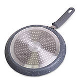 Сковорода блинная Kamille 24см с гранитным покрытием, фото 4