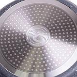 Сковорода блинная Kamille 24см с гранитным покрытием, фото 5