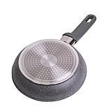 Сковорода Kamille 20см с гранитным покрытием из алюминия, фото 5