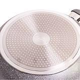 Сковорода Kamille 28см с гранитным покрытием из алюминия, фото 2