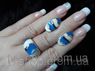 Серебряные изделия с золотом и эмалью.