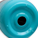 Термос пищевой 1400мл пластиковый со стеклянной колбой и 2 емкостями (розовый, голубой, зелёный), фото 10