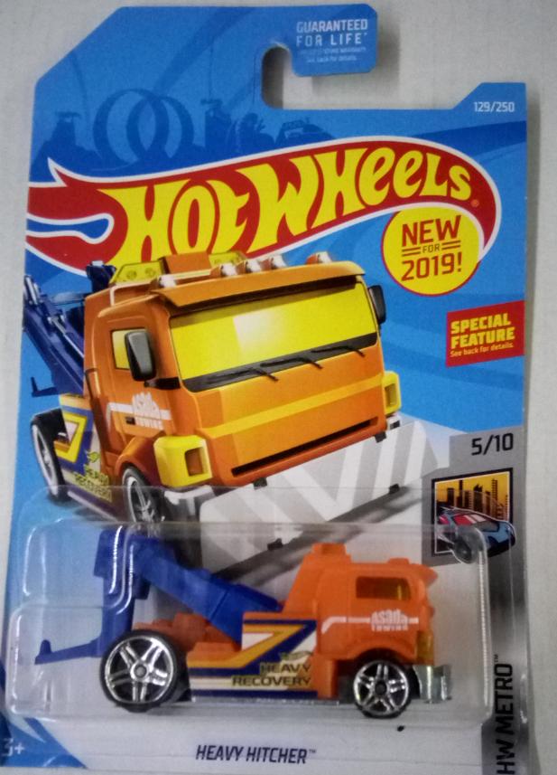 Машинка Hot Wheels 2019 Heavy Hitcher