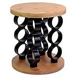 Набор ёмкостей для специй на деревянной подставке, фото 3