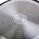 Сковорода Ø28*4.5 см з мармуровим покриттям із алюмінію, без кришки, фото 6