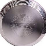Чайник 3л из нержавеющей стали со свистком (черная ручка), фото 8