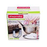 Резак для теста Kamille 11,5*11*4 см., фото 4