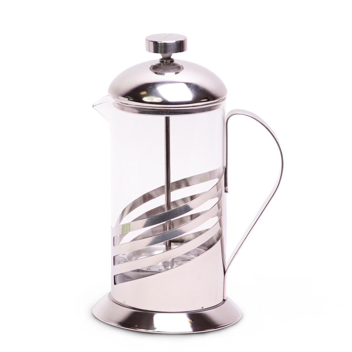Френчпресс Kamille 600мл (нержавеющая сталь, стекло)