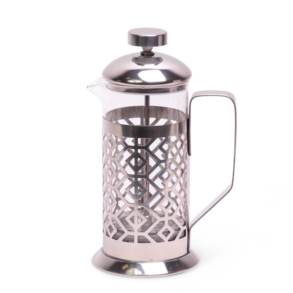 Френчпресс Kamille 350мл (нержавеющая сталь, стекло)