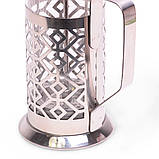 Френчпресс Kamille 350мл (нержавеющая сталь, стекло), фото 2