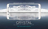 Защитная пленка Nillkin Crystal для Xiaomi Redmi Note 5 Pro / Note 5 (DC)