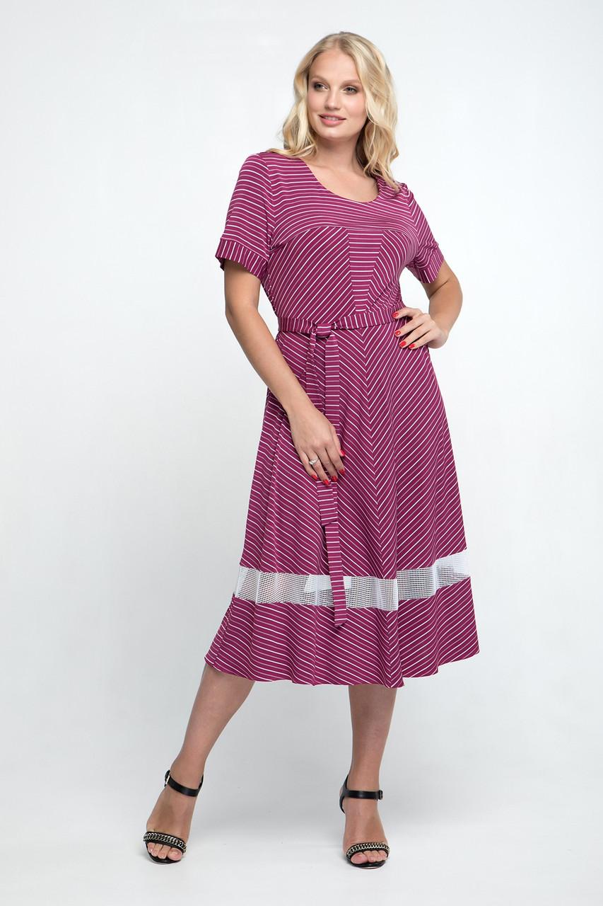 Летнее ботальное платье с 52 по 62 размер