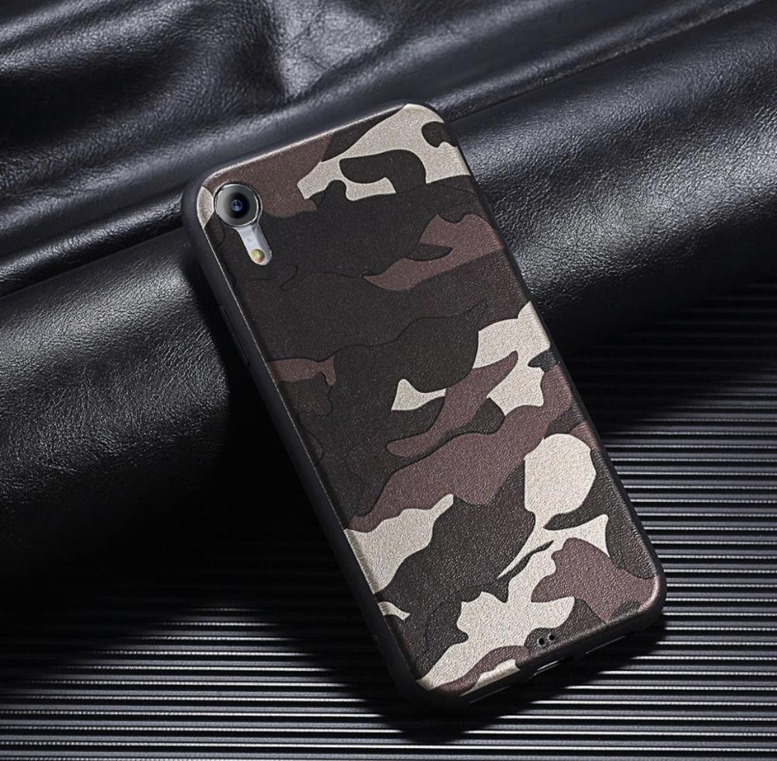 Защитный силиконовый TPU чехол для смартфона Apple iPhone 6/6s/6+/6s+7/8/7+/8+/X/XS «Хаки» в сером цвете