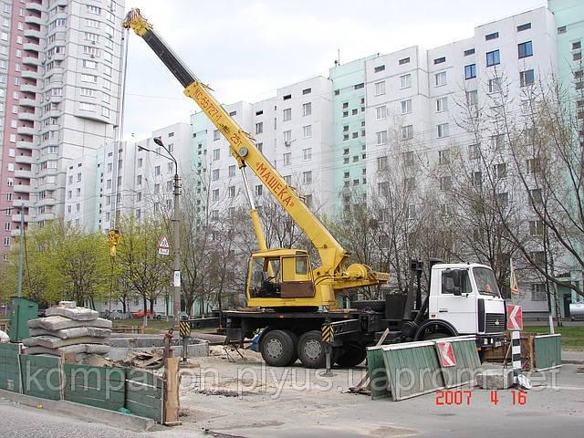 Услуги автокрана Киев Кран аренда Киев Автокран Киев аренда