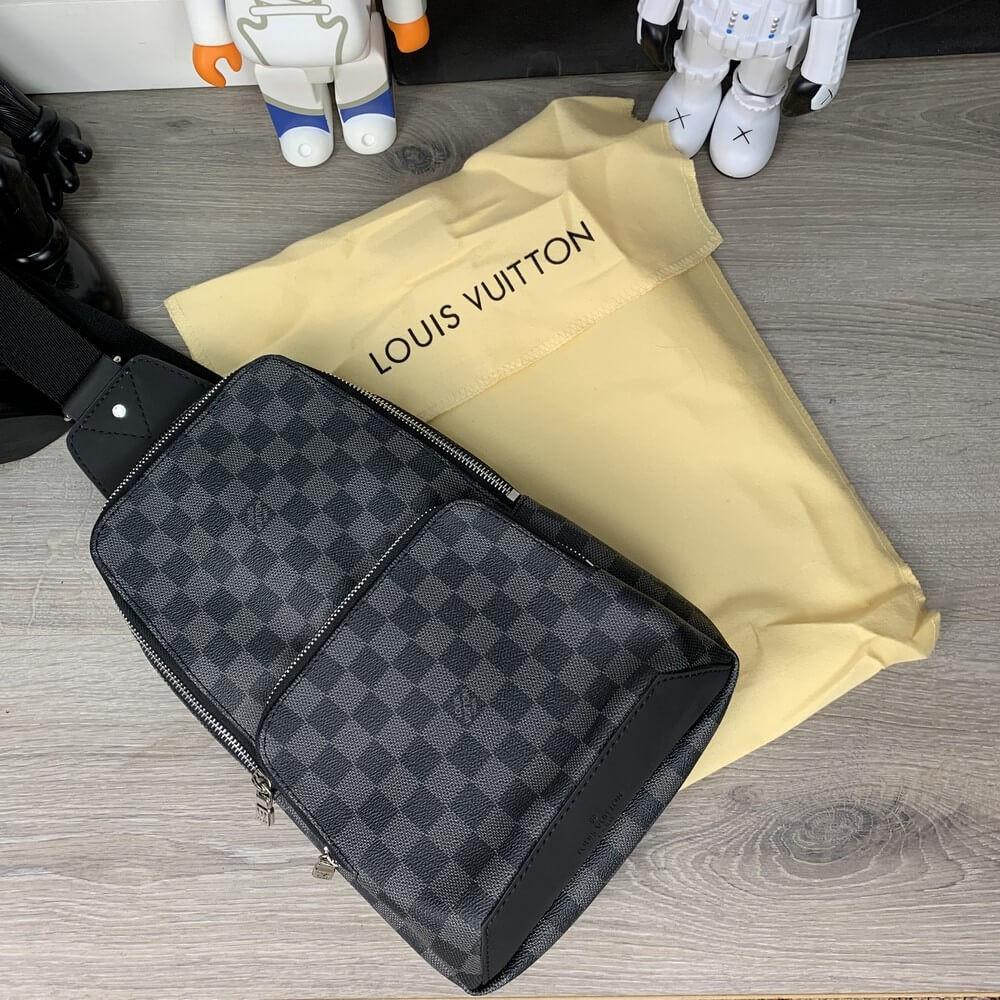 947a9f4b2 Louis Vuitton Avenue Sling Bag Damier Graphite — в Категории ...
