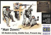 1:35 Современная американская армия, Master Box 35170;[UA]:1:35 Современная американская армия, Master Box