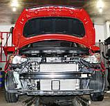 Декоративно-захисна сітка радіатора Hyundai i20 бампер, фото 2