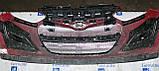 Декоративно-захисна сітка радіатора Hyundai i20 бампер, фото 3