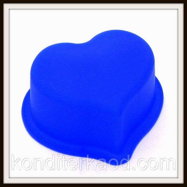 Силиконовая форма Сердечко мал. 8*4 см