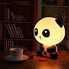 Настольный светильник-ночник Панда, фото 2