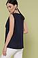 """Элегантная блузка без рукавов из креп-шифона р.42-46 """"Юлия"""", фото 4"""