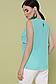 """Элегантная блузка без рукавов из креп-шифона р.42-46 """"Юлия"""", фото 7"""