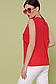 """Элегантная блузка без рукавов из креп-шифона р.42-46 """"Юлия"""", фото 8"""