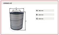 Фильтр воздушный CATERPILLAR (132-7168, 106-3969 ) CR0025-SF