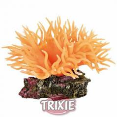 Trixie Оранжевая анемона - декорация для аквариума
