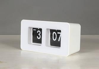 Часы перекидные White Vintage