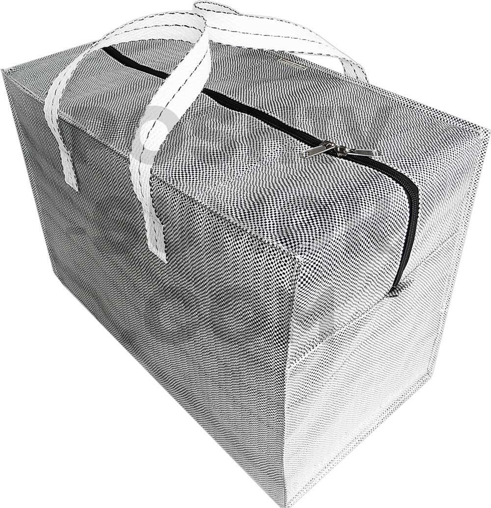 Сумка - баул полипропиленовая хозяйственная, размер 100-65-52 см (д-в-ш)