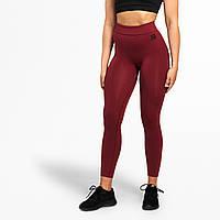Спортивні жіночі Better Bodies Rockaway tights, Sangria Red, фото 1
