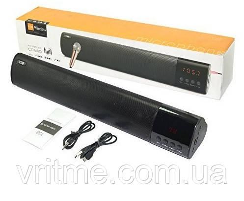 Бездротова колонка Wireless Speaker Magic Sound Y38 10W ((FM, Bluetooth, AUX, MIC, TF-card, USB)