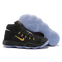 c7eef1b8 Женские баскетбольные кроссовки Nike Hyperdunk 2017 Flyknit Black Gold