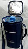 Термосумка - холодильник Dolphin для напоїв. Синя, фото 2