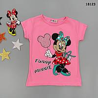 Футболка Minnie Mouse для девочки. 86-92 см, фото 1